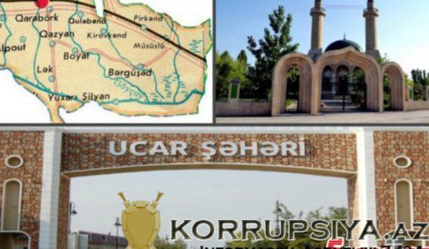 Ucar Aqro servisin müdiri Nazir Şükürov nazir İnam Kərimovun tapşırığına yox öz cibinin maraqlarına işləyir