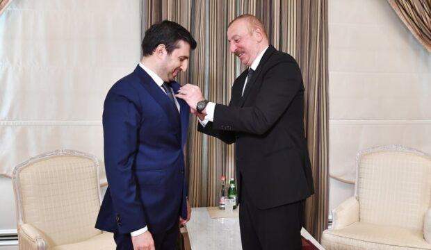 İlham Əliyev Selçuk Bayraktarı qəbul etdi – FOTOLAR