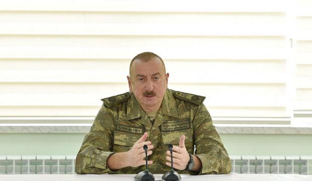 İlham Əliyev hərbi aerodromun açılışına qatıldı